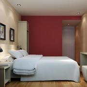 现代简约风格商务宾馆卧室装修效果图