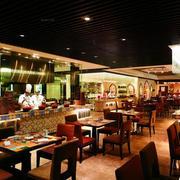 饭店桌椅设计图片