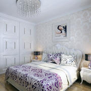 卧室背景墙墙纸图