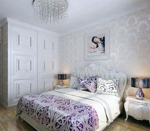 90平米欧式大户型卧室衣柜装修效果图鉴赏