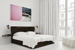 北欧式洁白90平米单身汉公寓装修效果图