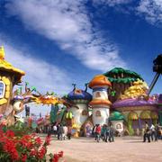 孩子们的天堂:精致大型游乐场装修图片
