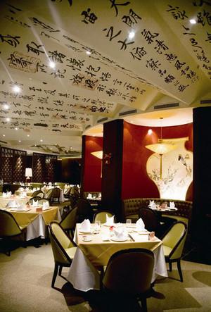 180平米大型中式风格酒楼装修效果图