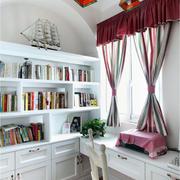 新房书房书柜欣赏