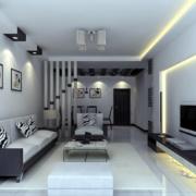 2016现代大户型欧式客厅装修效果图鉴赏