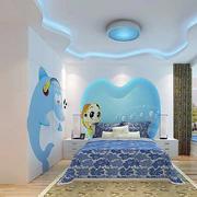 现代儿童房设计图