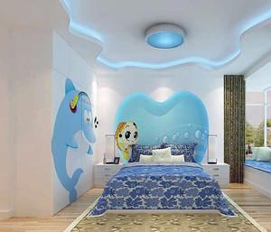 120平米大户型地中海风格儿童房装修效果图