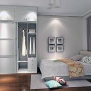 精致的卧室衣柜图