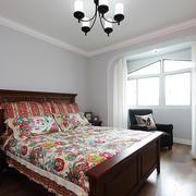 新房美式卧室床