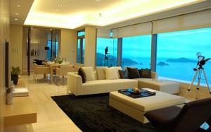 268平米海景别墅客厅装潢设计效果图