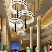 欧式酒店大厅奢华吊顶装修设计效果图