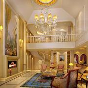 温馨色调二层别墅图片