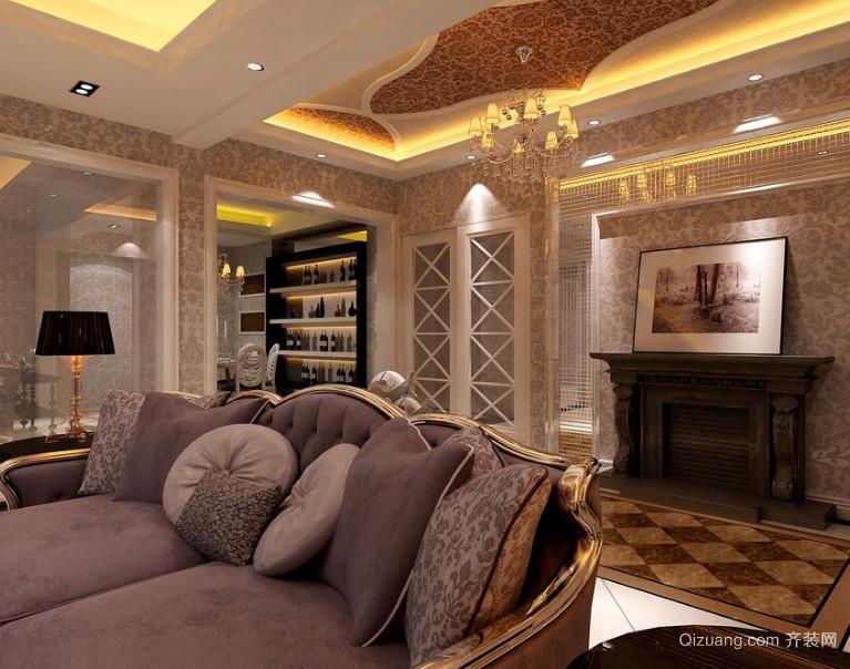 90平米大户型现代客厅室内装修效果图鉴赏