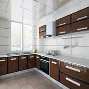 纯白色调厨房设计图