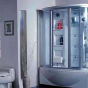 单身公寓后现代风格整体卫浴装修效果图