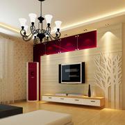 跃层中式风格客厅装修效果图欣赏