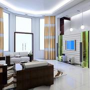 大户型唯美系列客厅装修效果图欣赏