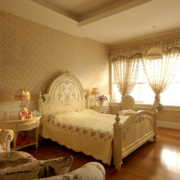 90平米欧式大户型卧室装修效果图实例鉴赏