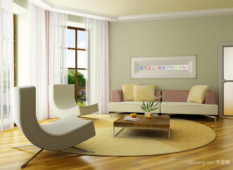 大户型精致风格客厅装修效果图欣赏