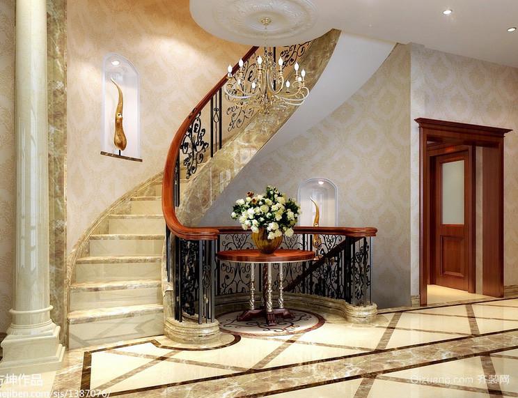 100平米居家必备室内楼梯设计效果图
