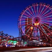 超大型游乐场灯光装修效果图片