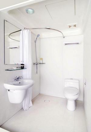 20平米北欧清新整体卫生间装修效果图