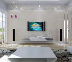 现代大户型欧式电视机背景墙装修效果图鉴赏