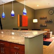 别墅新古典风格吧台设计装修效果图