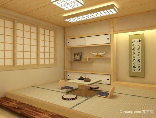 现代日式风格大户型榻榻米装修效果图鉴赏