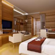 现代大都市欧式单身公寓装修效果图鉴赏