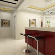 现代大户型欧式室内吧台装修效果图鉴赏