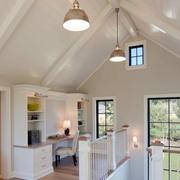 80平米小户型美式白色系现代阁楼装修效果图
