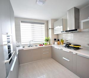 70平米小户型欧式厨房装修设计效果图鉴赏