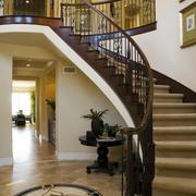大户型宜家风格室内楼梯设计效果图