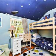 简约风格儿童房卧室装饰