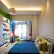 暖色调卧室整体设计