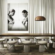 公寓精致餐厅装潢欣赏