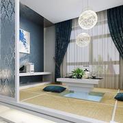 两室一厅现代简约风格榻榻米装修效果图