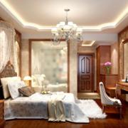 2016唯美欧式小户型卧室装修效果图实例