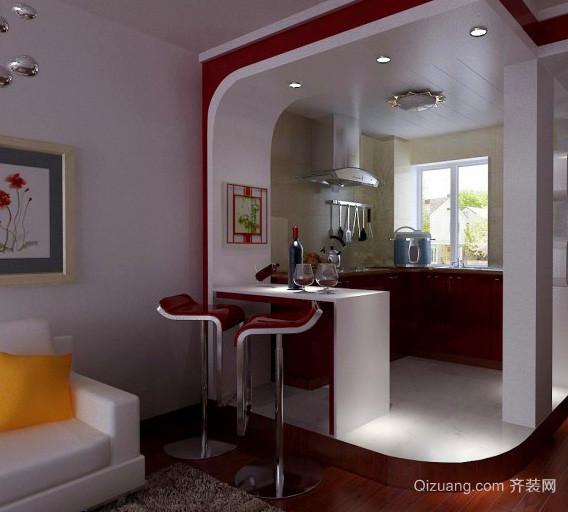 别墅精美吧台设计装修效果图