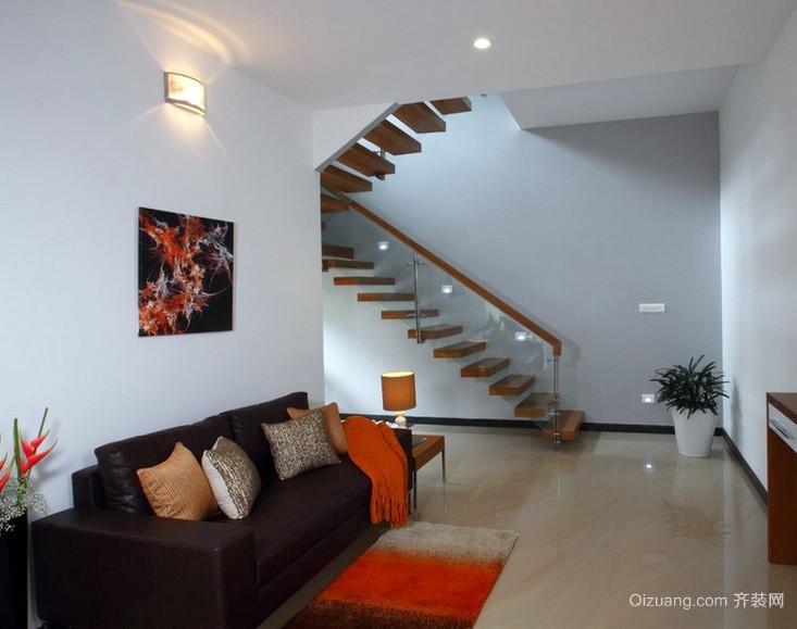 120平米家用室内楼梯设计效果图
