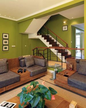 100平米时尚风格室内楼梯设计效果图