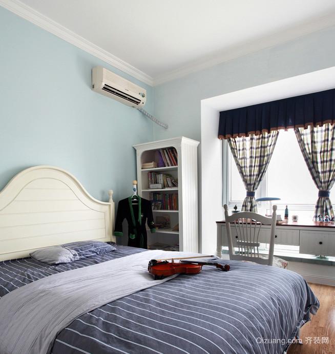 素雅小清新90平米新房装修布置效果图