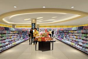 种类齐全超市设计装修效果图