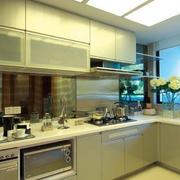 小户型唯美风格厨房装修效果图