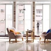 别墅小型阳台餐桌椅