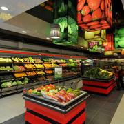 后现代风格超市装饰