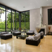 120平米现代欧式大户型欧式客厅装修效果图