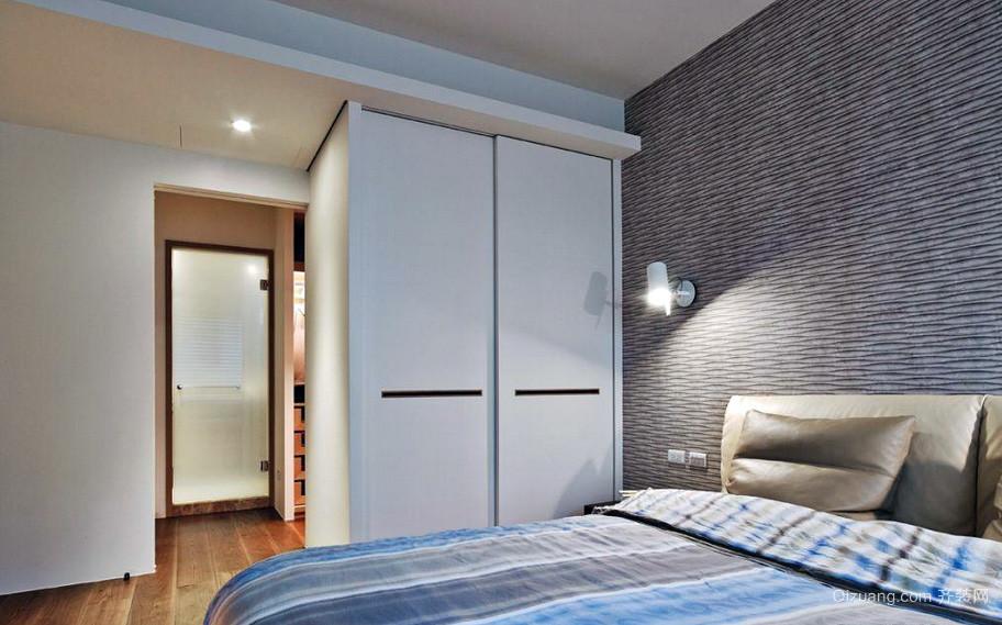 宜家小卧室简易衣柜设计装修图