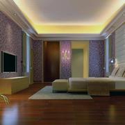 精致的卧室窗帘造型图